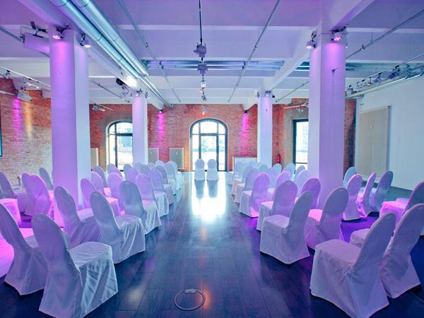 Hochzeit im 2C Spreequartier Berlin