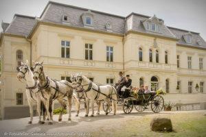 Traumhafte Hochzeit im Eventschloss Schönfeld. Hier können Sie standesamtlich heiraten und exklusiv feiern