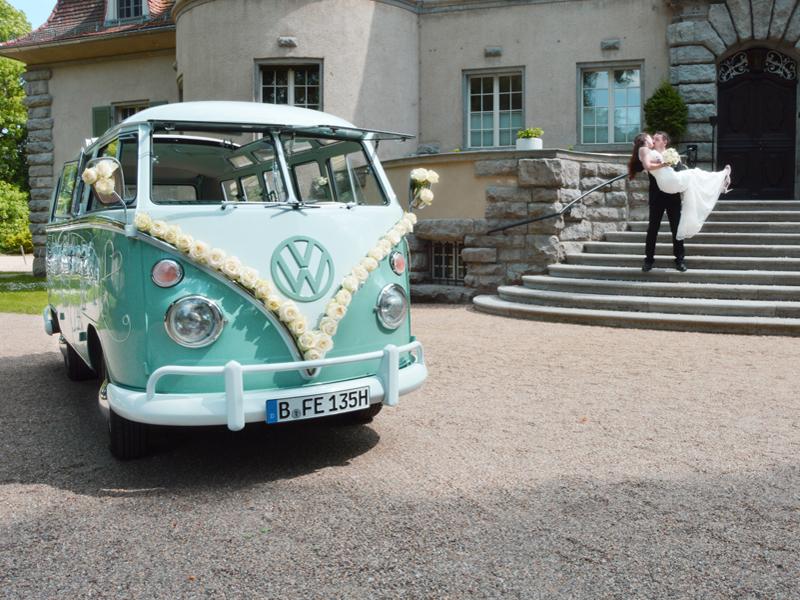 Hochzeitsauto Berlin - T1 VW-Bus mieten