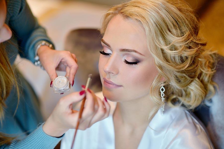 Braut Make-Up für die Hochzeit in Berlin und Brandenburg