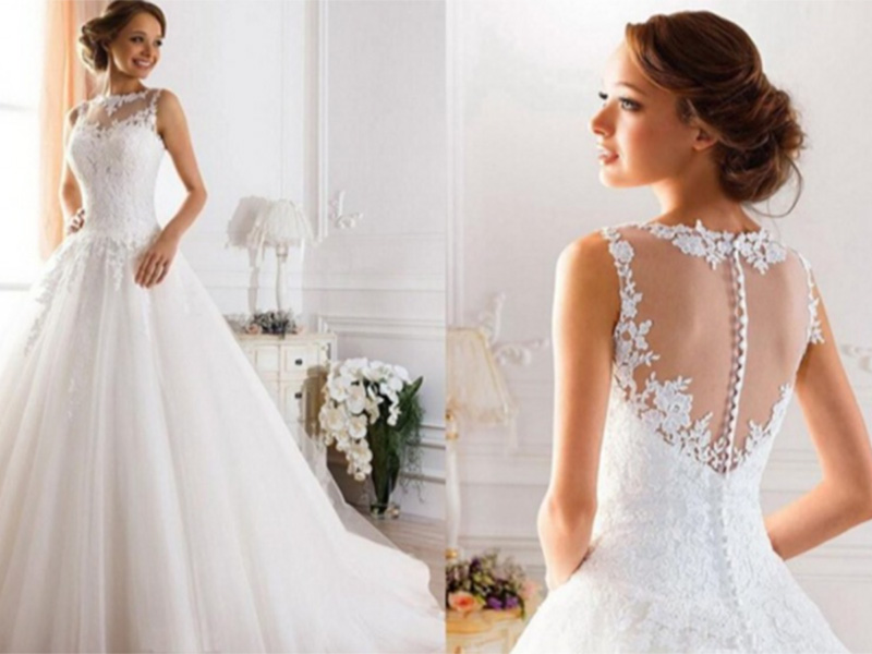Brautkleid Brautmode in Berlin White Bridal Rocks