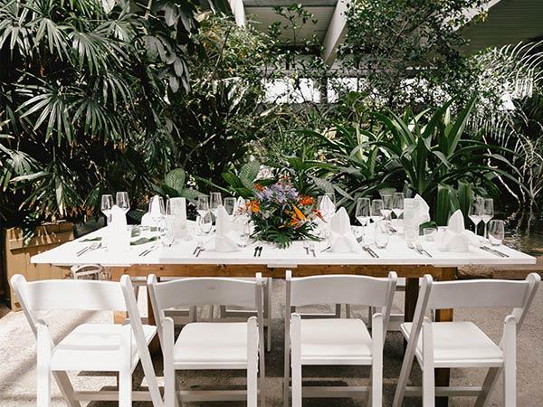Hochzeitslocation in Potsdam - Biosphäre Potsdam