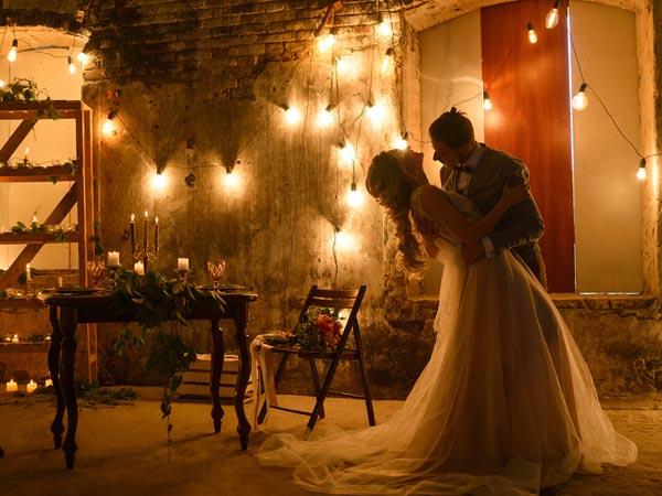 Boho-Hochzeit