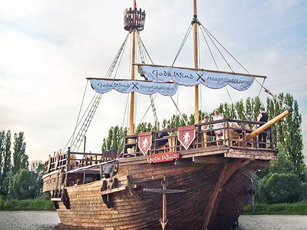 Gode-Wind-Eventschiff