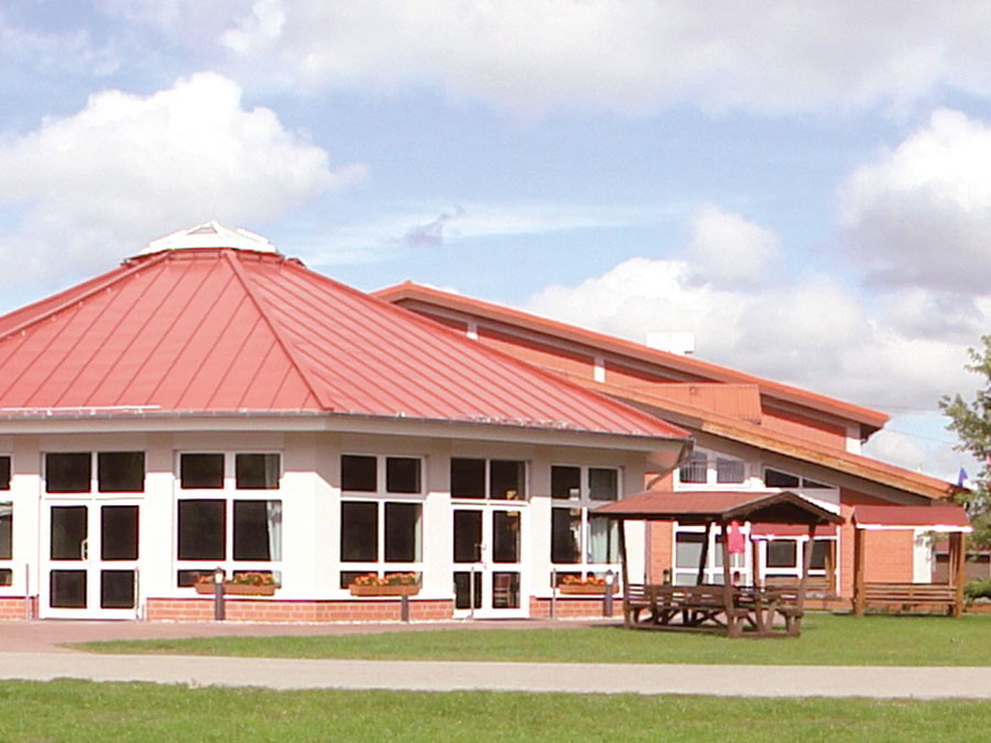 Panoramapavillon im Erlebnispark Paaren