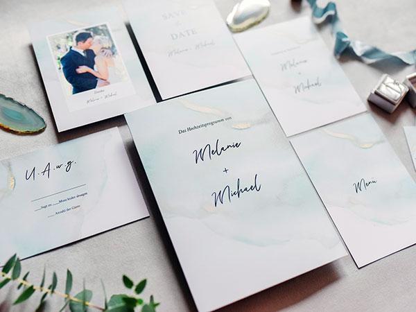 Hochzeitsplaza Kartenshop: Eure Liebe – gedruckt von uns!