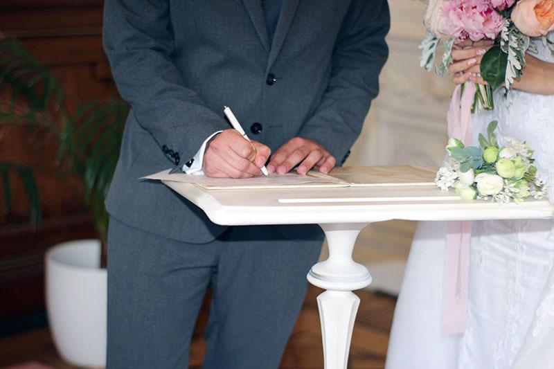 wichtige Dokumente zur Eheschließung