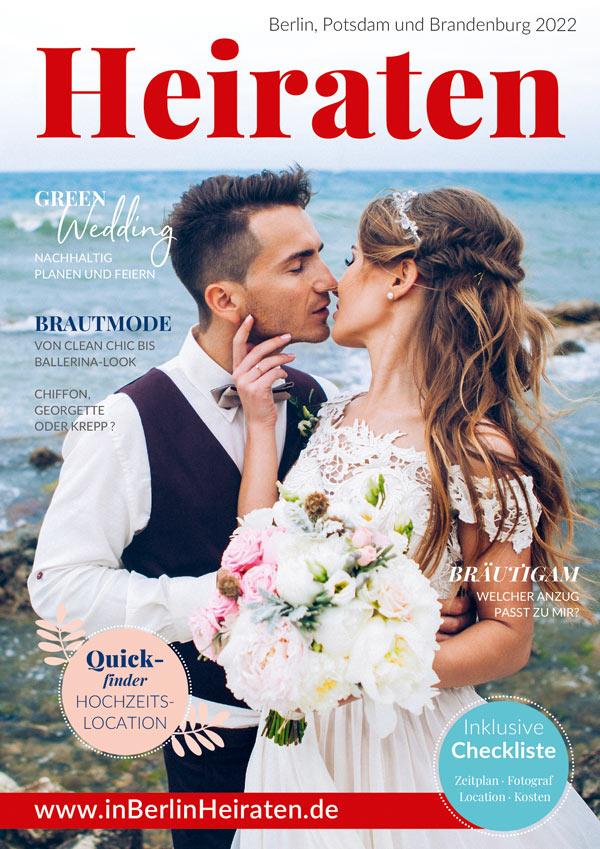 Magazin Heiraten in Berlin, Potsdam und Brandenburg