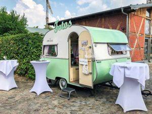 Fotobox im Vintage-Caravan