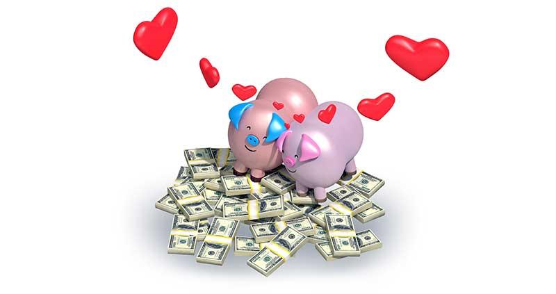Finanzierung der Hochzeit
